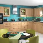 Abbey Lanc Oak budge kitchen - Anne Wright Colchester
