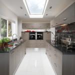 Avola Grey Contemporary Kitchen at Anne Wright Kitchens, Colchester, Essex