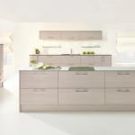 Avola White Contemporary Kitchen at Anne Wright Kitchens, Colchester, Essex