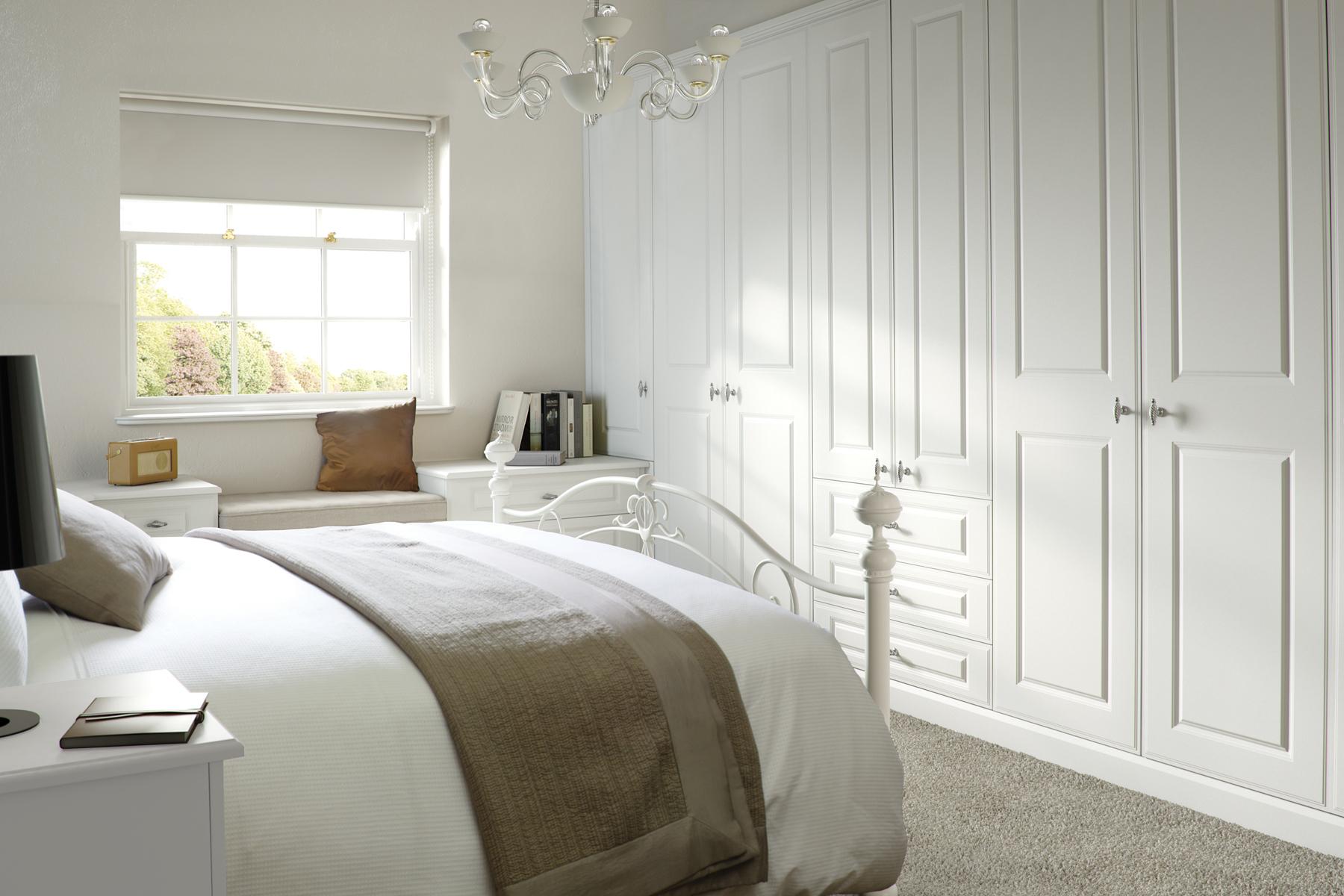 Georgian smooth white anne wright interiors ltd for Georgian bedroom ideas
